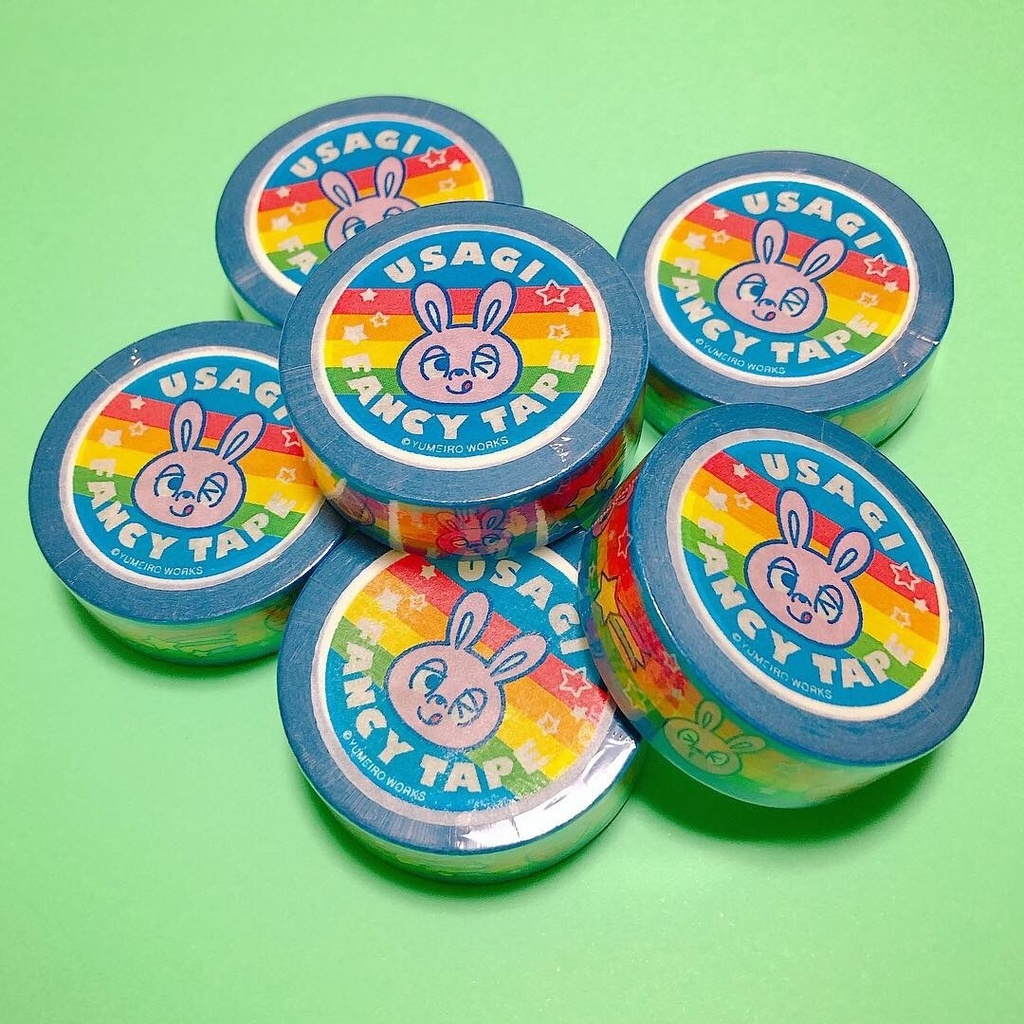 〈ワケあり商品〉マスキングテープ『USAGI FANCY TAPE』
