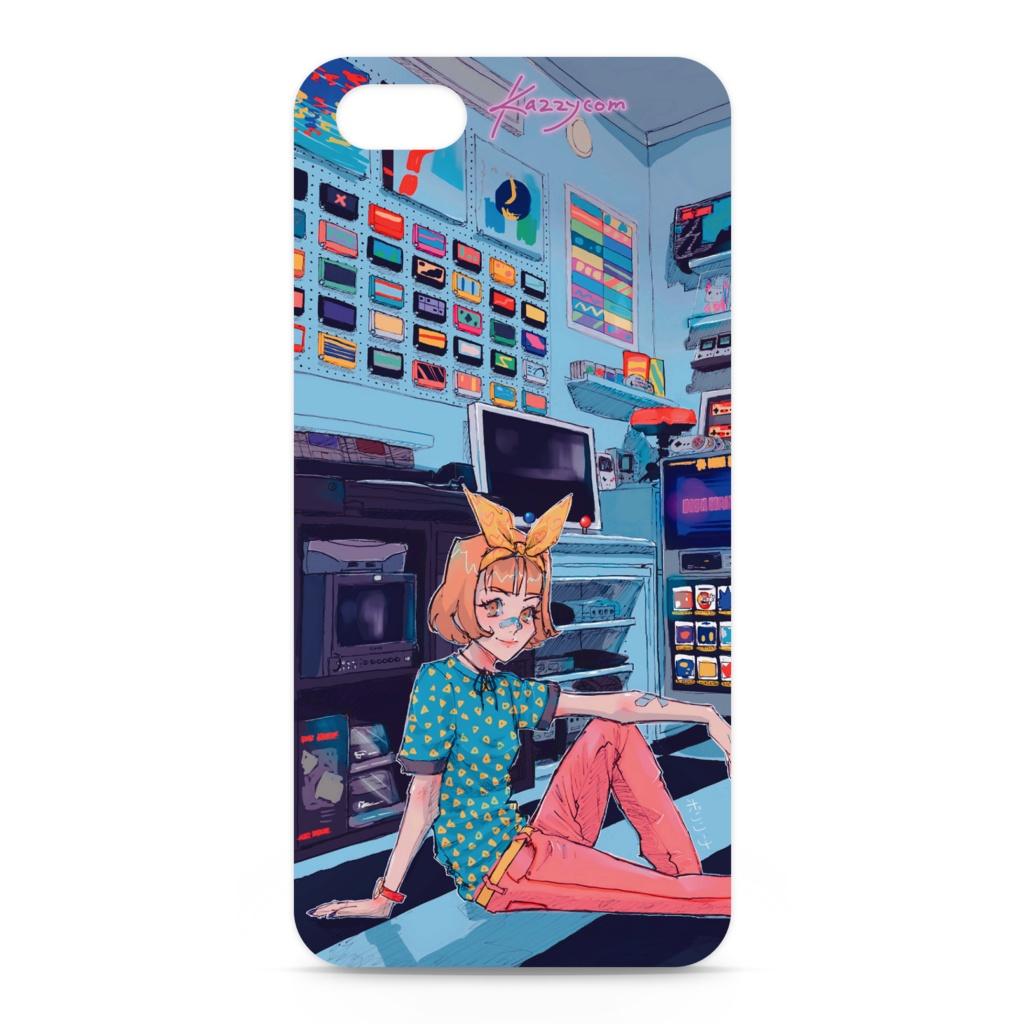 カジコムの部屋iPhoneケース