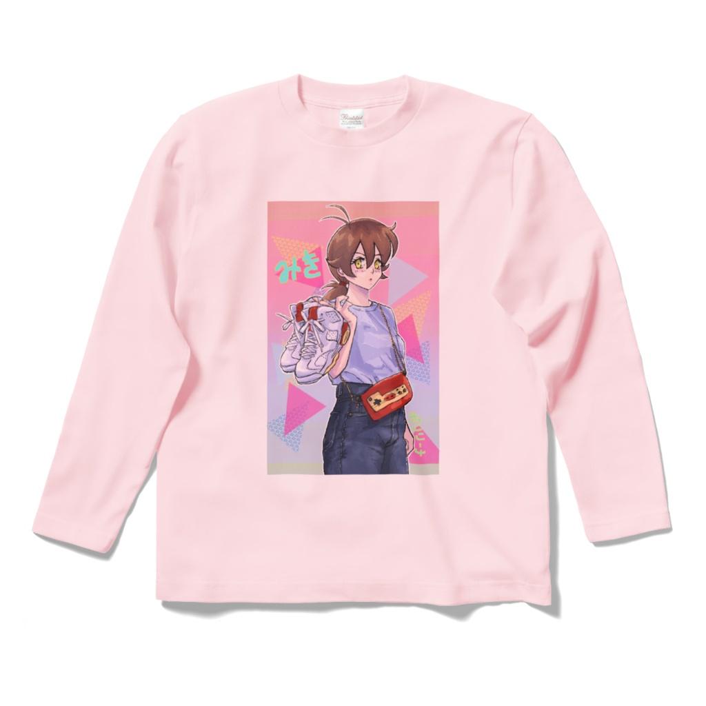 みきちゃんロングスリーブTシャツ