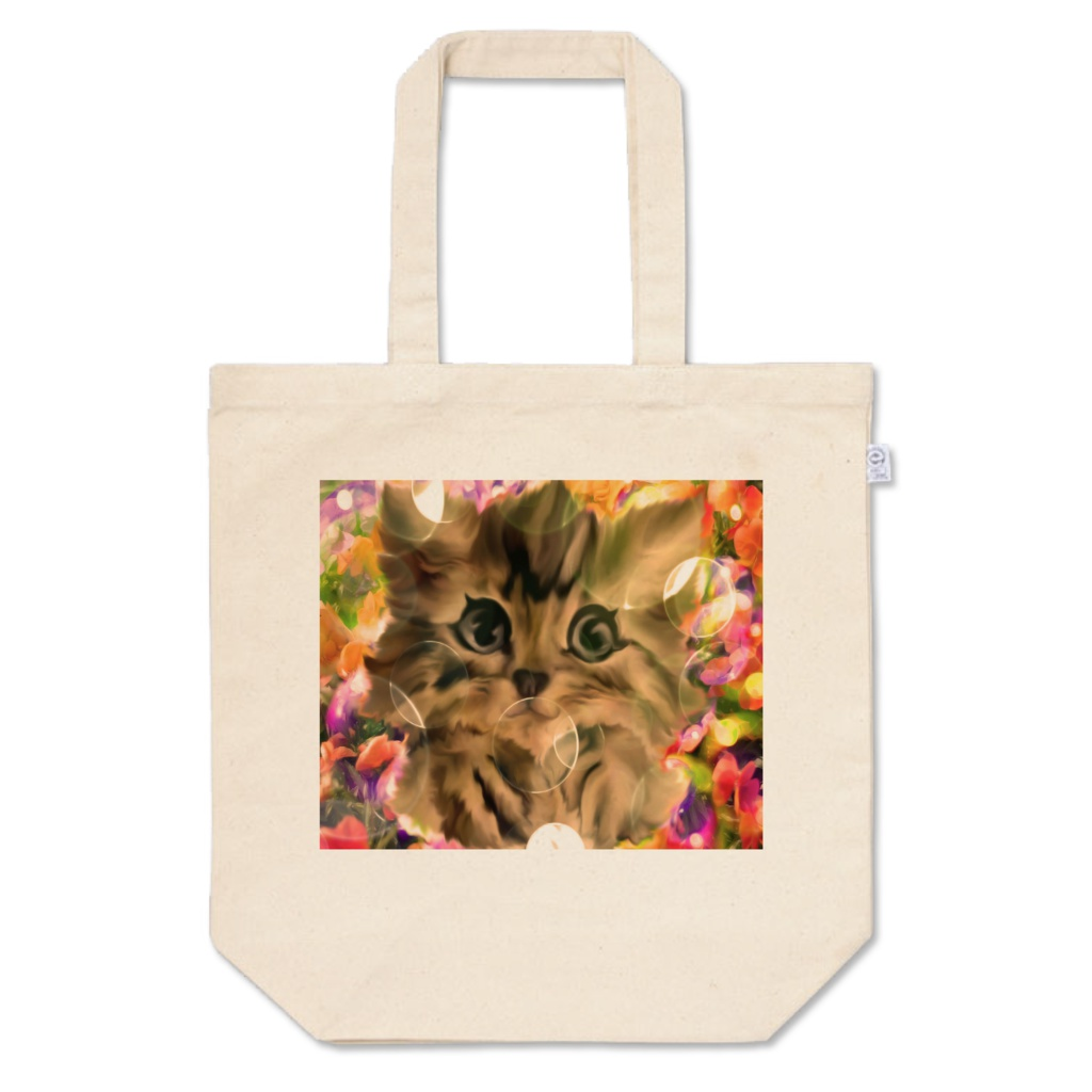 MJアート・トートバッグ(M)mjtb03  Art goods of artist MJ [Tote bag(M)]mjtb03