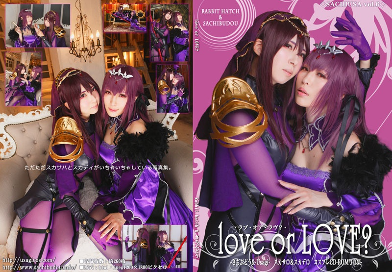 <C95合同>さちうさvol.6 love or LOVE?