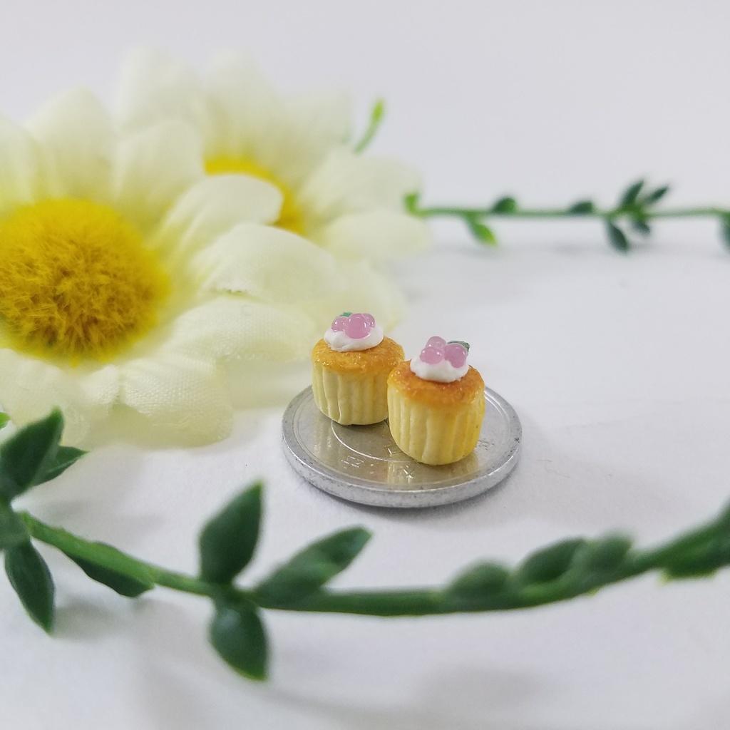 ミニチュアフード♡葡萄のカップケーキ【2セット】ふ