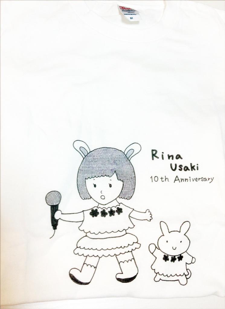 初咲里奈10周年記念Tシャツ