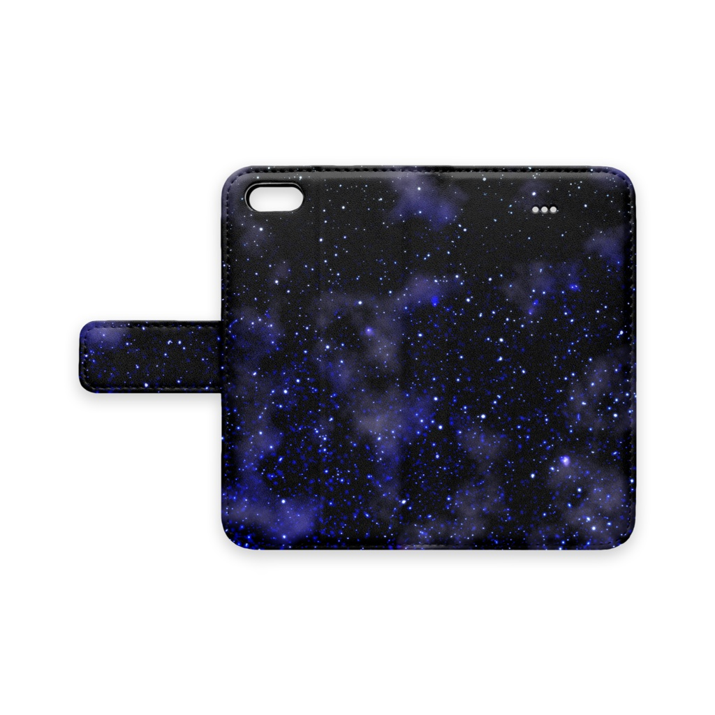 星の海 手帳型iPhoneケース iPhone5
