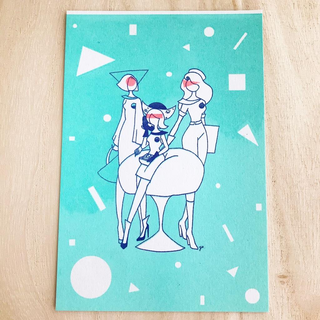 Post card(Three)