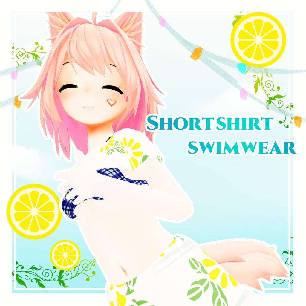 Short shirt swimwear(△18595)
