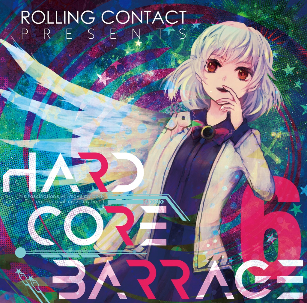 Rolling Contact - HARDCORE BARRAGE 6