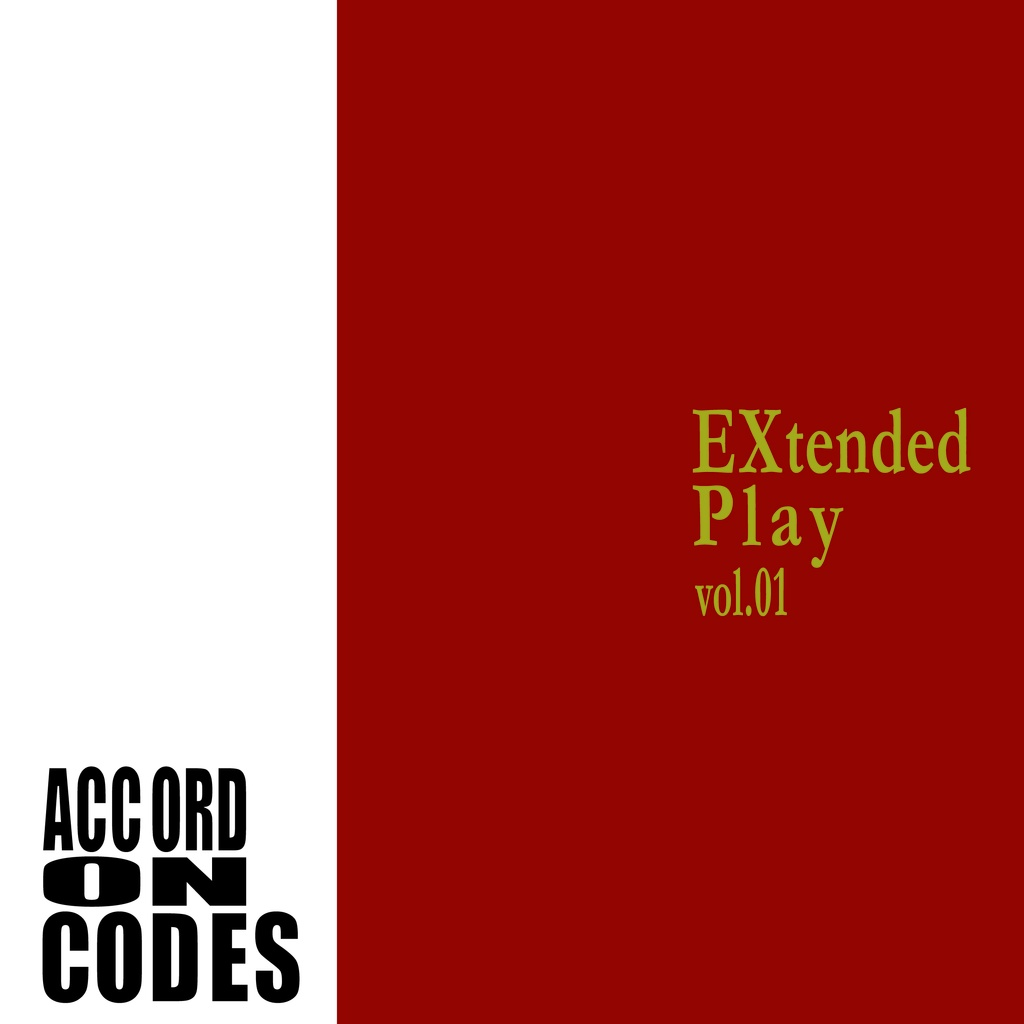 ACCORD ON CODES - EXtended Play Vol.01
