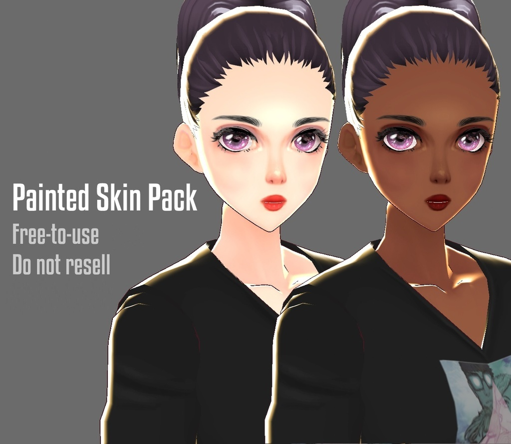 Vroid Painted Skin Pack