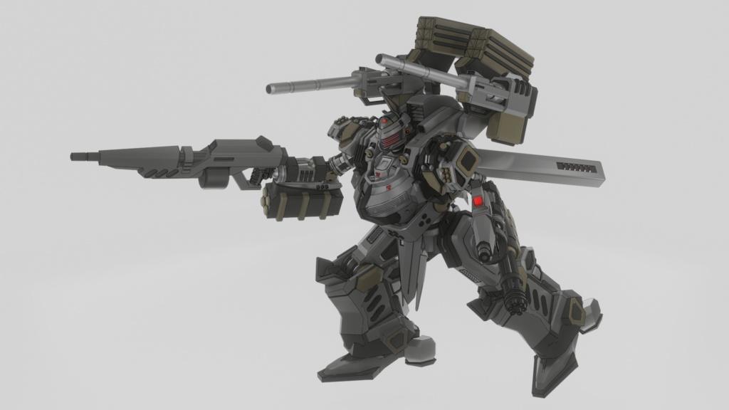 VRChat想定 A.S.D.F A01-198 ハインドMk-2(Mk-2SX1)