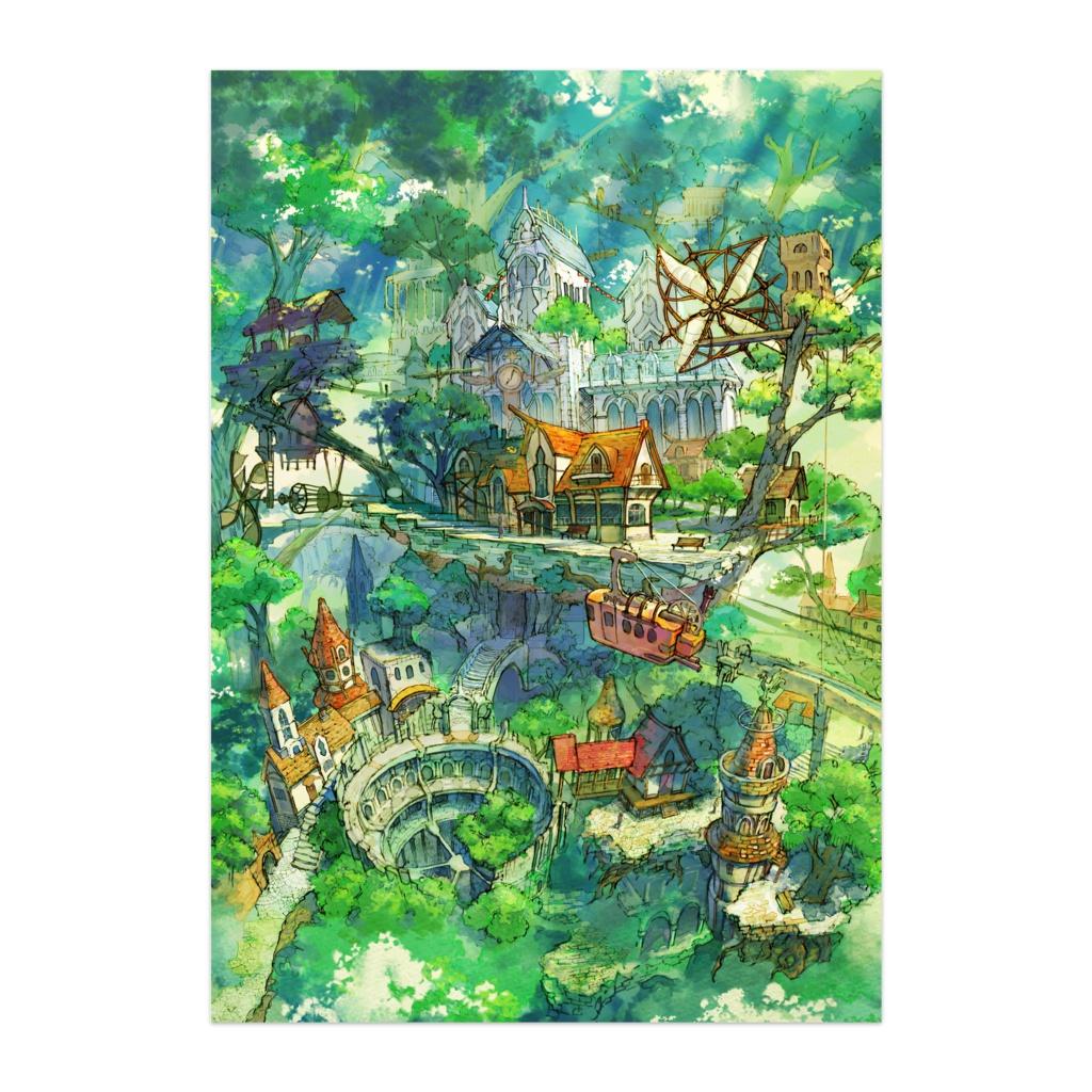 ポスター『樹上の町』