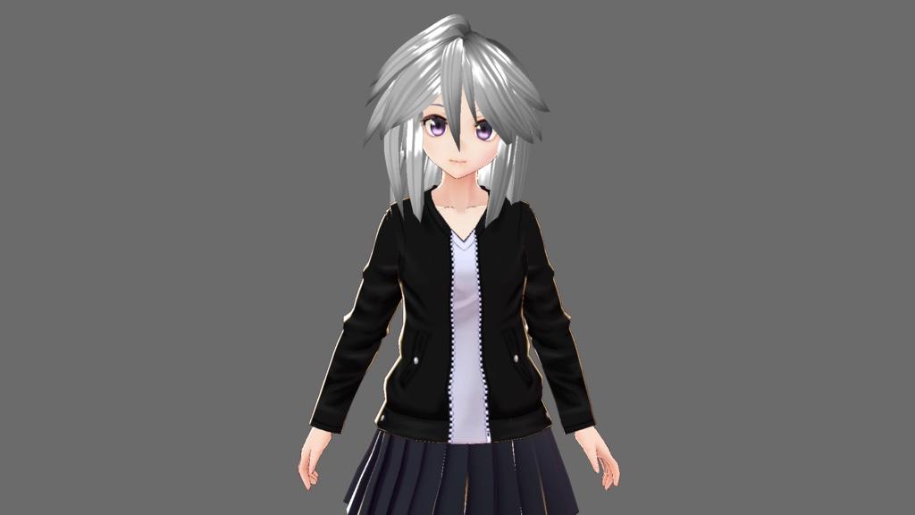 VRoid用衣装 レザージャケット/革ジャン テクスチャ