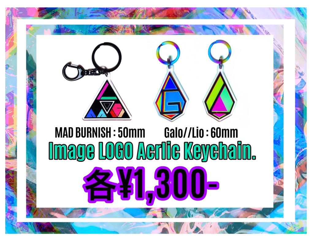 PROMARE ImageLOGO Acrlic Keychain