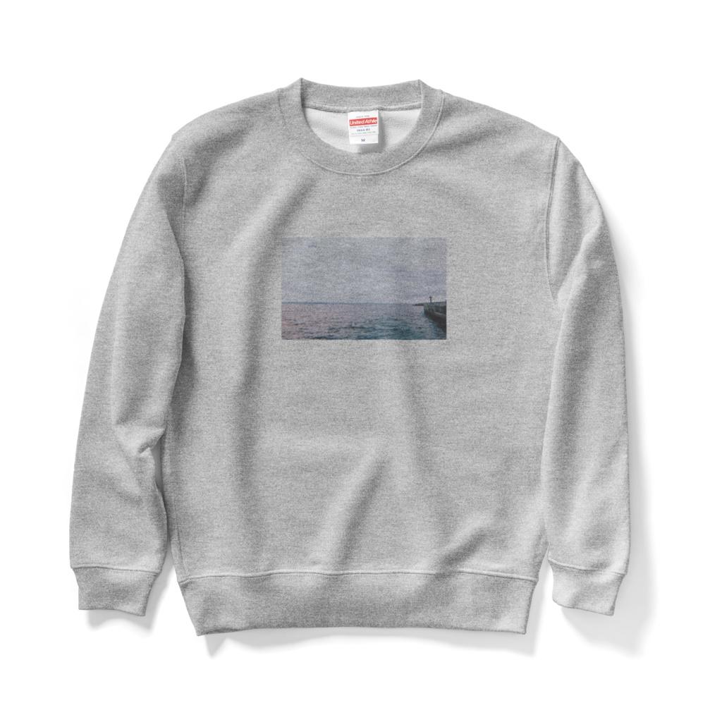海のスウェット